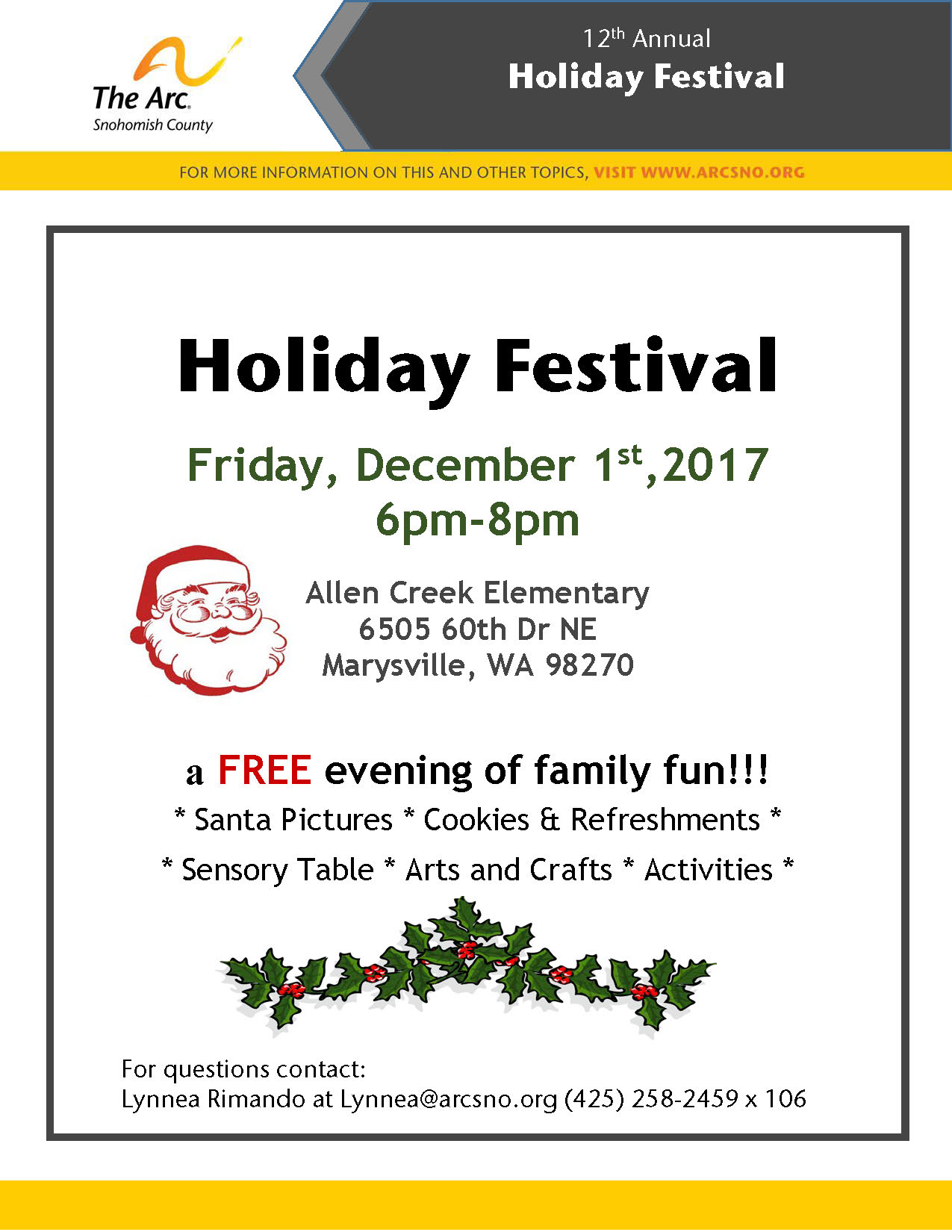 Holiday Festival 2017