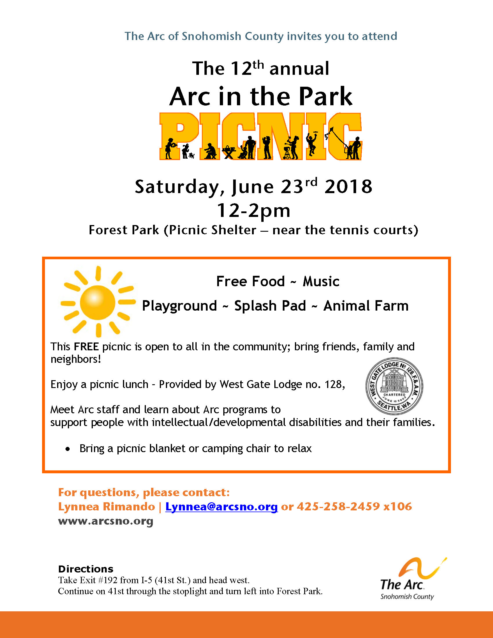 Arc in the Park June2018
