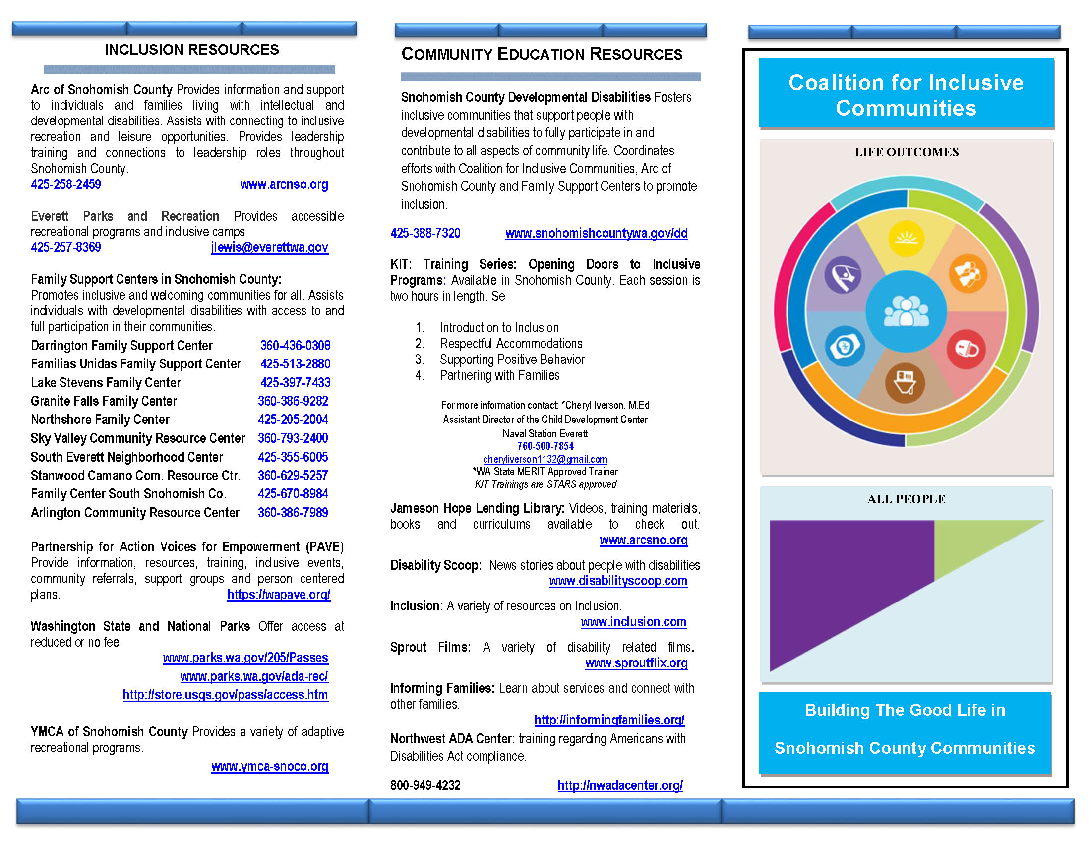 Coalition for Inclusive Communities Brochure