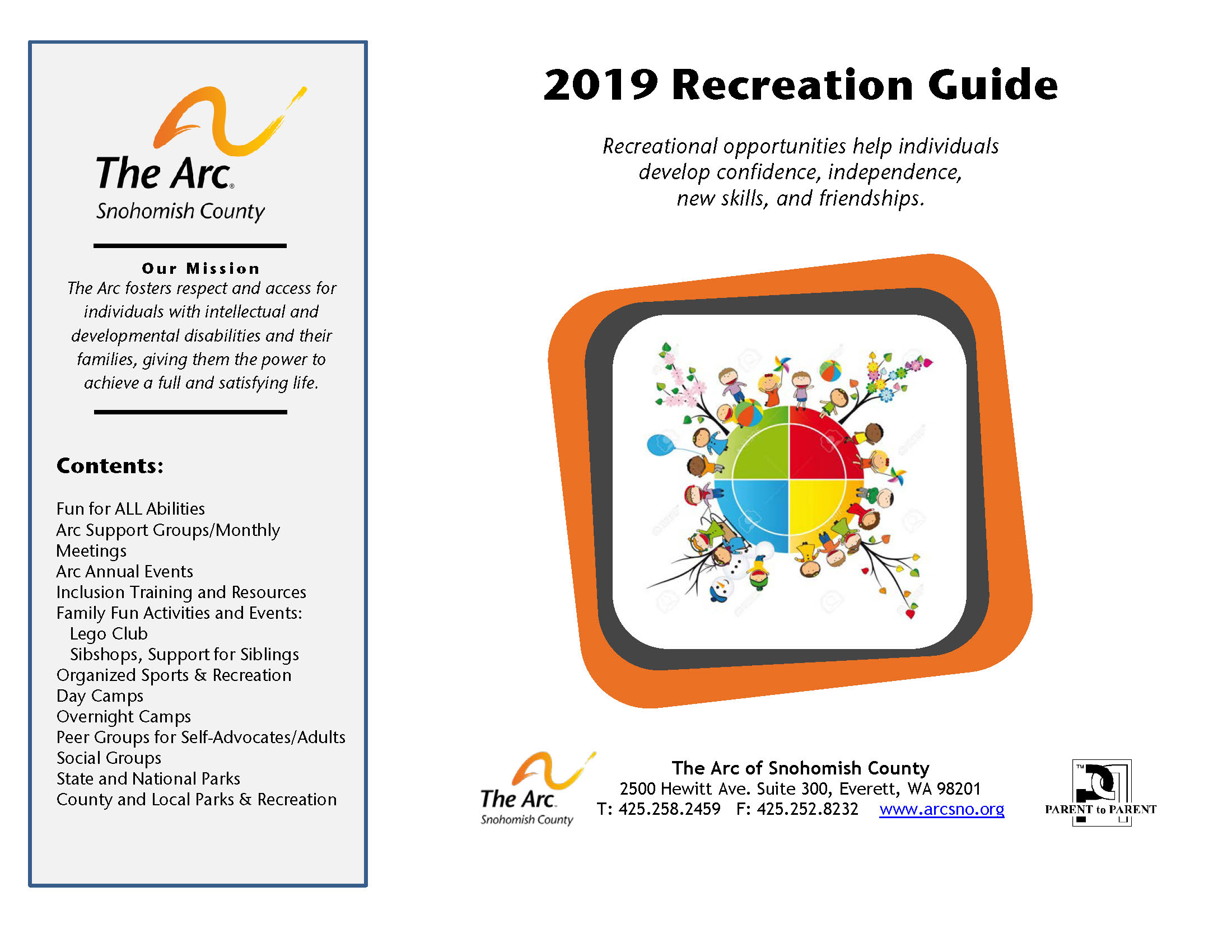 2019 Recreation Guide