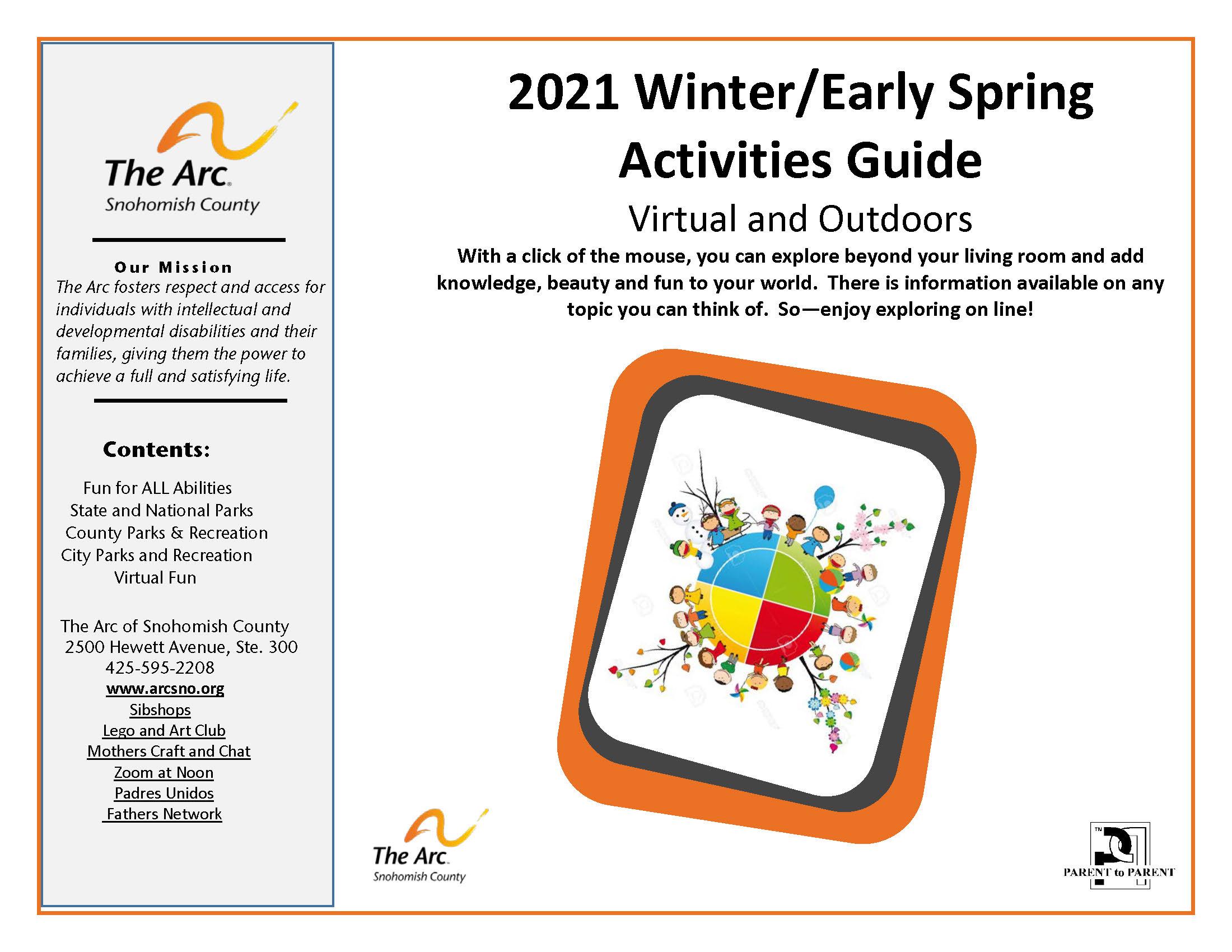 2021 Winter/Spring Activities Guide